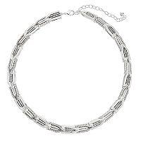 Napier Textured Collar Necklace