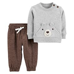Baby Boy Carter's Bear Sweatshirt & Jogger Pants Set