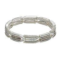Napier Textured Stretch Bracelet