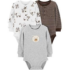 Baby Boy Carter's 3-pack Bear Thermal Bodysuits