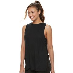 Juniors' SO® Lace-Up Side Tank