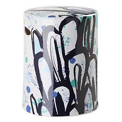 Safavieh Contemporary Abstract Indoor / Outdoor Stool