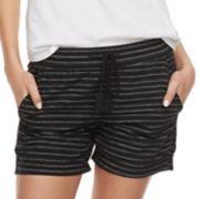 Women's SONOMA Goods for Life? Striped Linen Soft Shorts