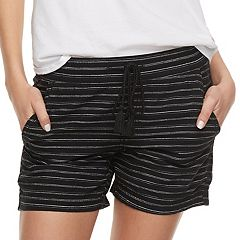 Women's SONOMA Goods for Life™ Striped Linen Soft Shorts