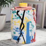 Safavieh Modern Abstract Indoor / Outdoor Stool