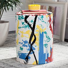 Safavieh Modern Abstract Indoor / Outdoor Stool