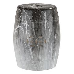 Safavieh Gray Faux Marble Indoor / Outdoor Stool