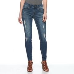 Women's Seven7 Secret Fit Destructed Skinny Jeans