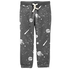 Toddler Boy Carter's Fleece Space Pants