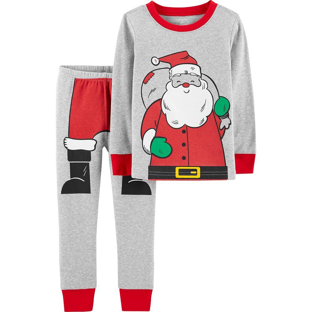 Toddler Carter's Santa Claus Top & Bottoms Pajama Set