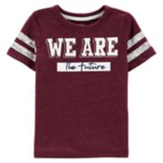 "Toddler Boy Carter's ""We Are The Future"" Athletic Tee"