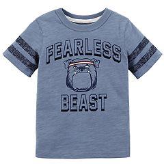 Toddler Boy Carter's 'Fearless Beast' Bulldog Tee