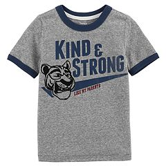 Toddler Boy Carter's 'Kind & Strong Like My Parents' Tiger Tee