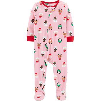 9ef76a536e Baby Girl Carter s Microfleece Santa