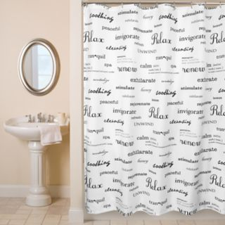 Watershed Spa Shower Curtain