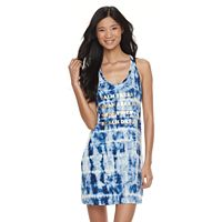 Women's Miken Graphic Strappy Racerback Cover-Up