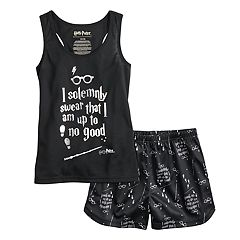 Girls 4-12 Harry Potter 'I Solemnly Swear' Tank Top & Shorts Pajama Set