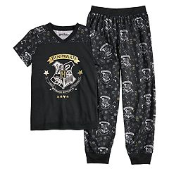 Girls 4-12 Harry Potter Hogwarts Top & Jogger Pants Pajama Set