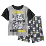 Boys 6-12 Star Wars Storm Trooper 2-Piece Pajama Set