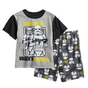 Boys 6-12 Star Wars Storm Trooper 2 pc Pajama Set