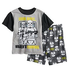 boys 6 12 star wars storm trooper 2 piece pajama set - Star Wars Christmas Pajamas