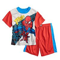 Boys 4-10 Spider-Man 2 pc Pajama Set