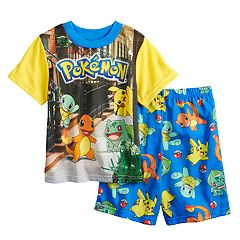 Boys 6-12 Pokemon 2 pc Pajama Set