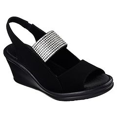 Skechers Cali Rumblers Sparkle On Women's Wedge Sandals