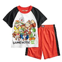 Boys 6-12 Super Mario Bros. 2 pc Pajama Set