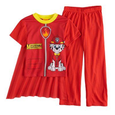 Boys 4-8 Paw Patrol 3-Piece Uniform Costume Pajama Set