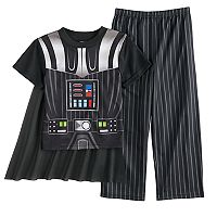 Boys 4-10 Star Wars Darth Vader 3-Piece Uniform Pajama Set
