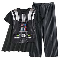 Boys 4-10 Star Wars Darth Vader 3 pc Uniform Pajama Set