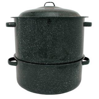 Graniteware 10-pc. 19-qt. Steamer & Seafood Cracker Set