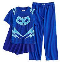 Boys 4-8 PJ Masks 3-Piece Uniform Pajama Set