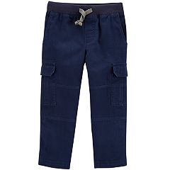 Toddler Boy Carter's Canvas Pull-On Pants