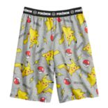 Boys 6-16 Pokemon Pikachu Sleep Shorts
