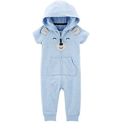 Baby Boy Carter's Bear Hooded Coverall