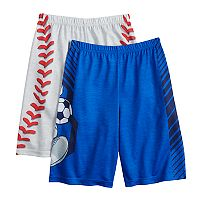 Boys 4-16 Up-Late Sports 2-Pack Sleep Shorts