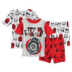 Boys 6-12 Star Wars 4 pc Pajama Set