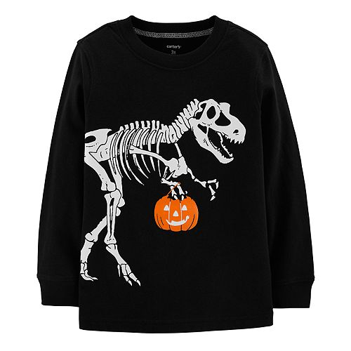 d498bd4f Toddler Boy Carter's Dinosaur Halloween Graphic Tee