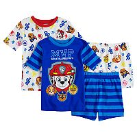 Boys 4-8 Paw Patrol 4 pc Pajama Set
