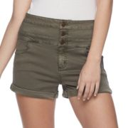 Juniors' Tinseltown Triple-Stacked Shorts
