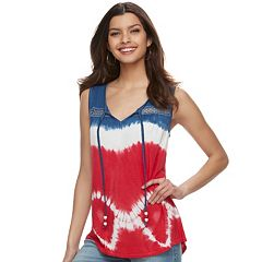 Women's World Unity Tie-Dye Tank