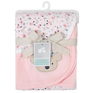 Just Born 2-pack Thermal Ditsy Floral Swaddle Blankets