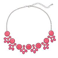 Bib Inlay Statement Necklace