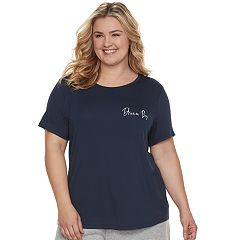 Plus Size SONOMA Goods for Life™ Graphic Pajama Tee