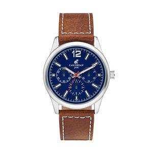 Caribbean Joe Men's Chronograph Watch - CJ7040SLBNNV
