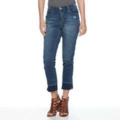 Women's Seven7 Wide Release-Hem Skinny Jeans