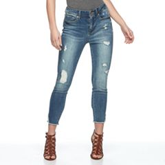 Women's Seven7 High-Rise Destructed Skinny Jeans