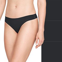 Women's Under Armour 3-pack Pure Stretch Thong Panty